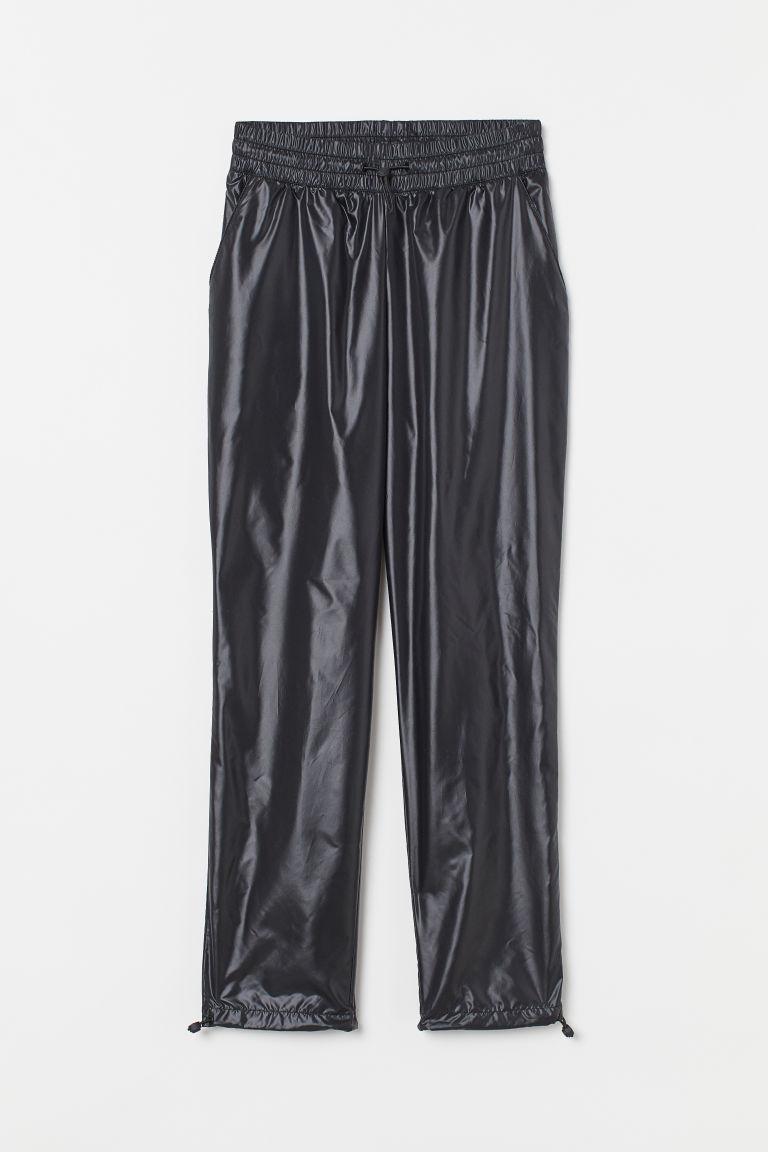 H & M - 運動長褲 - 黑色