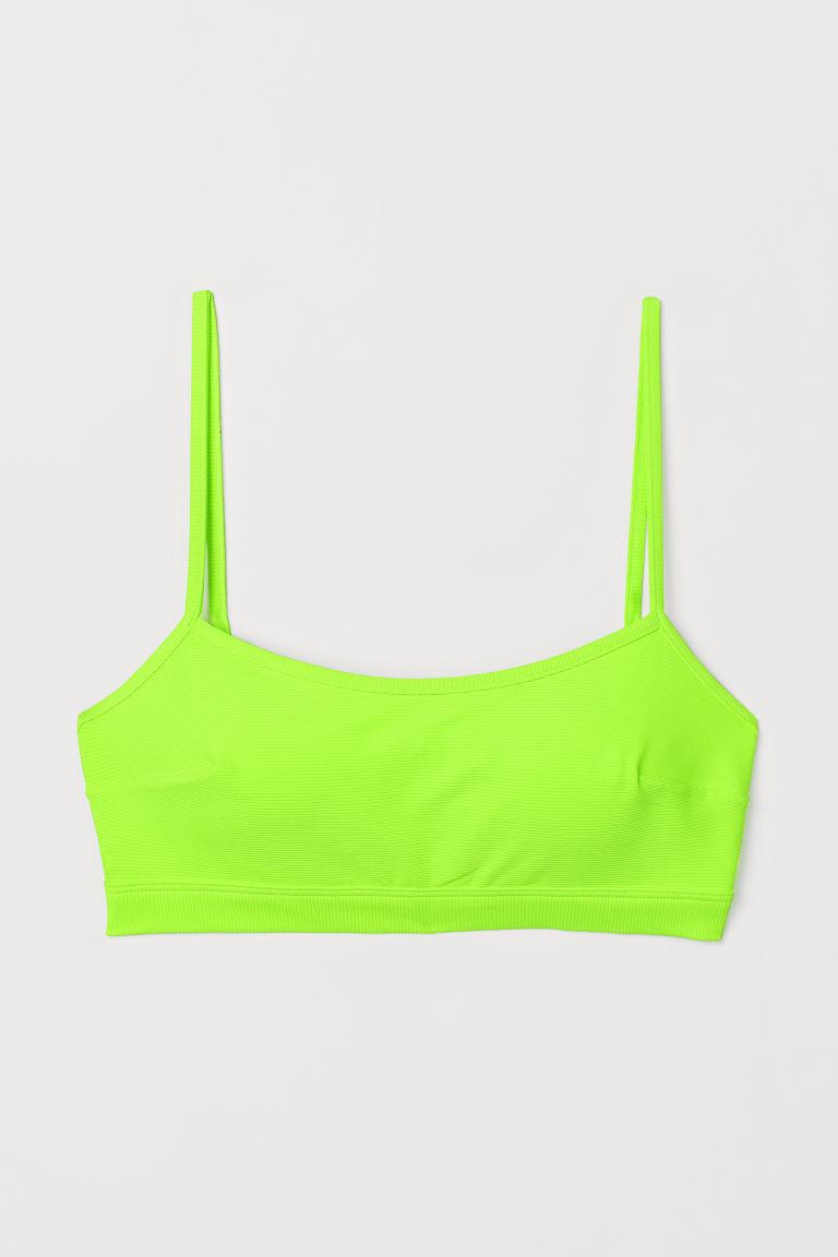 H & M - 比基尼上衣 - 綠色