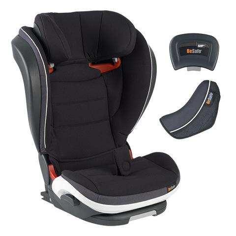BeSafe iZi Flex FIX 成長型兒童汽車安全座椅-極光黑