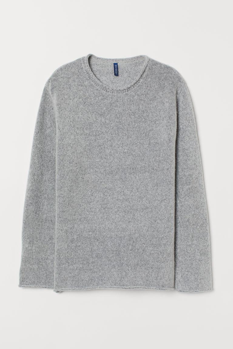 H & M - 針織套衫 - 灰色