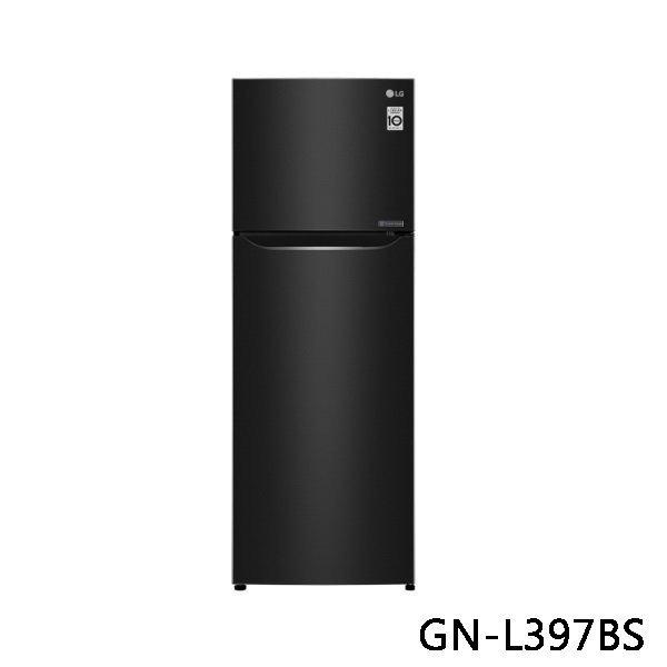 LG 樂金 直驅變頻上下門冰箱 GN-L397BS 315L 星夜黑 原廠保固 結帳更優惠 黑皮TIME
