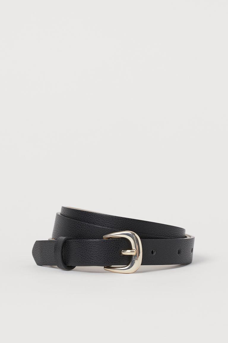 H & M - 細腰帶 - 黑色
