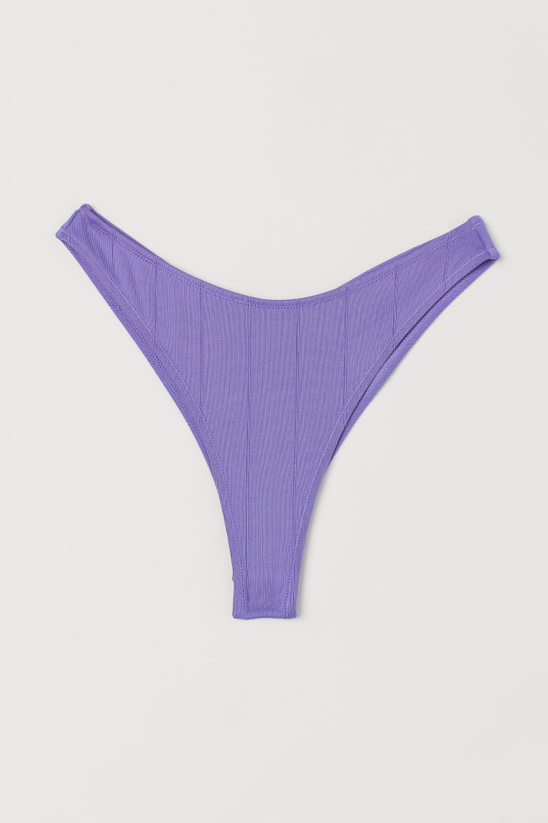 H & M - Brazilian 比基尼褲 - 紫色