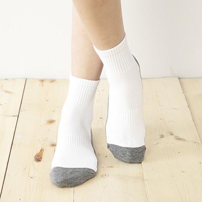 中筒學生襪-灰 (商品編號:S0700313)