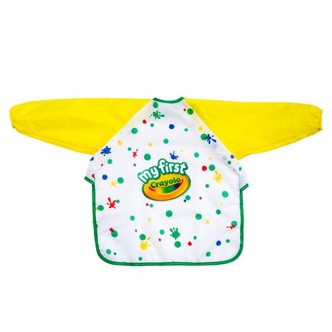 美國crayola繪兒樂 幼兒可水洗塗鴉罩衫