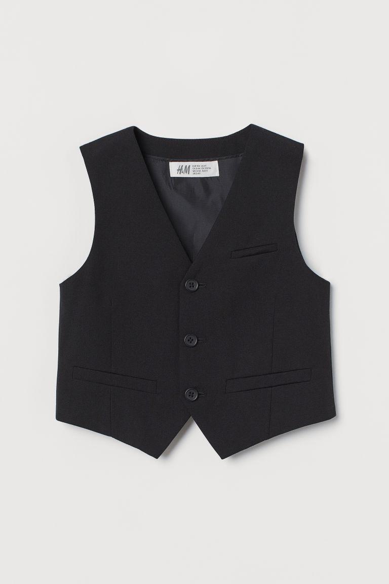 H & M - 背心 - 黑色