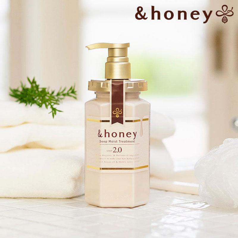 【日本&honey】蜂蜜亮澤修護-護髮乳 2.0 (445g)