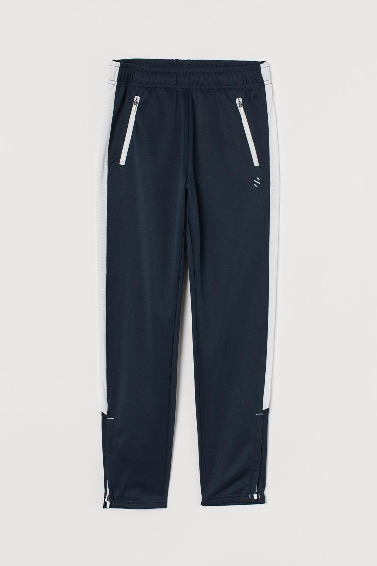 H & M - 運動長褲 - 藍色