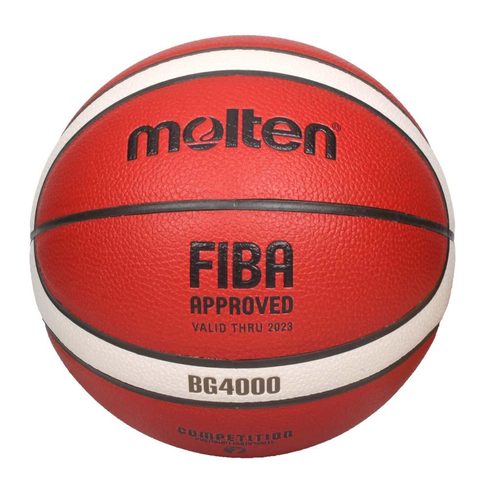 MOLTEN #7合成皮12片貼籃球-室內 室外 戶外 訓練 7號球 橘米白黑 F