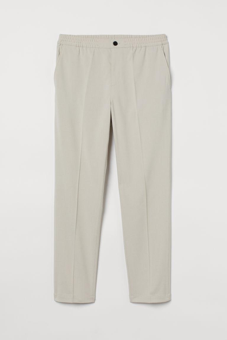 H & M - 貼身COOLMAX®纖維慢跑褲 - 褐色