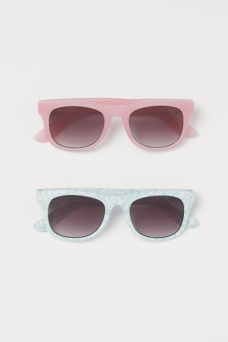 H & M - 2入太陽眼鏡 - 藍綠色