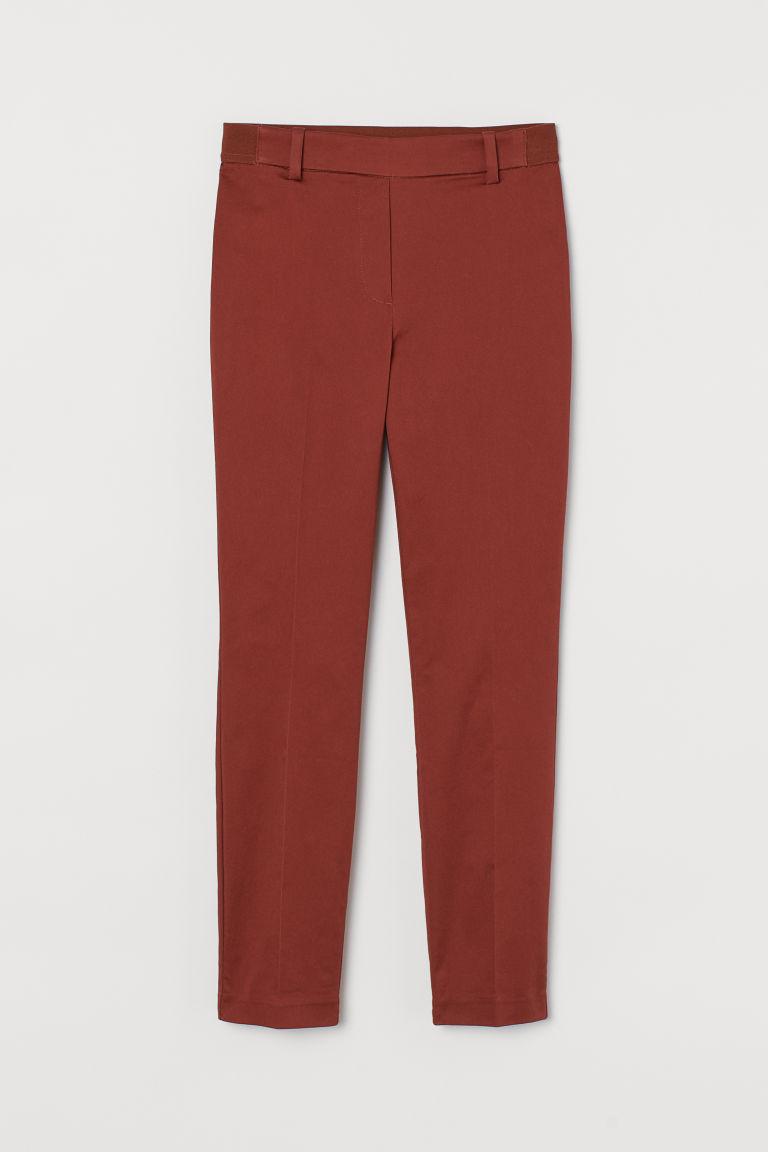 H & M - 九分褲 - 橙色