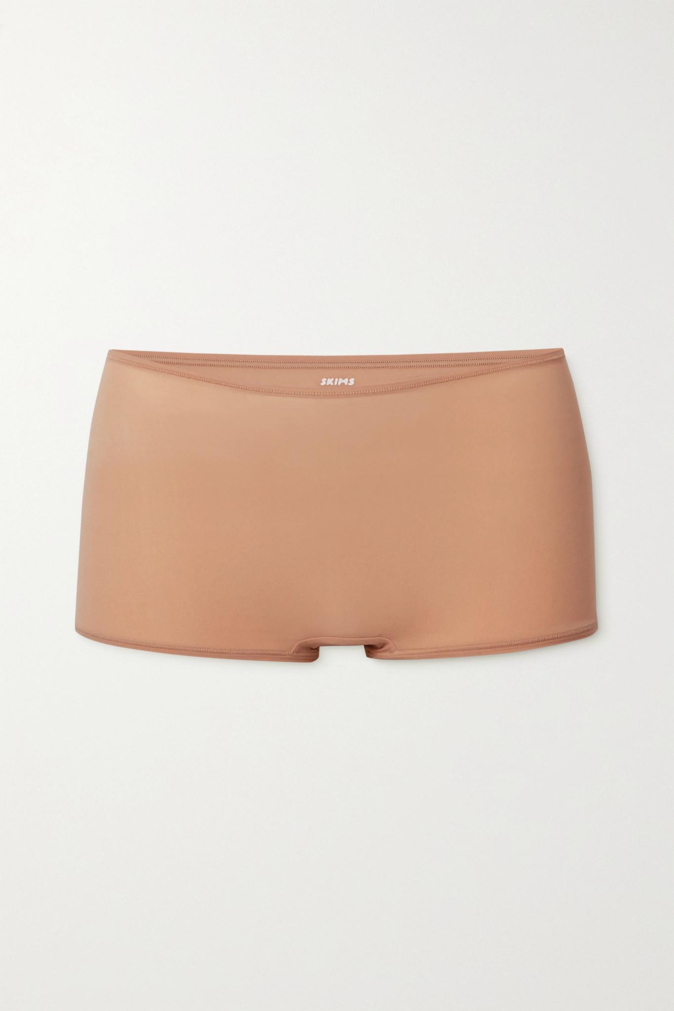 SKIMS - Fits Everybody Boy Shorts - Mica - Neutrals - 3XL