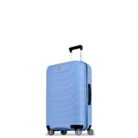 *probeetle馬卡龍PP行李箱24吋-丹寧藍(B0011)