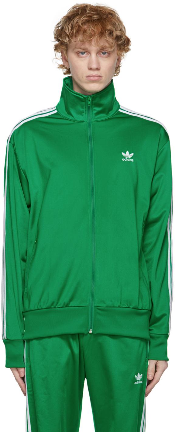 adidas Originals 绿色 Adicolor Classics Firebird 运动夹克