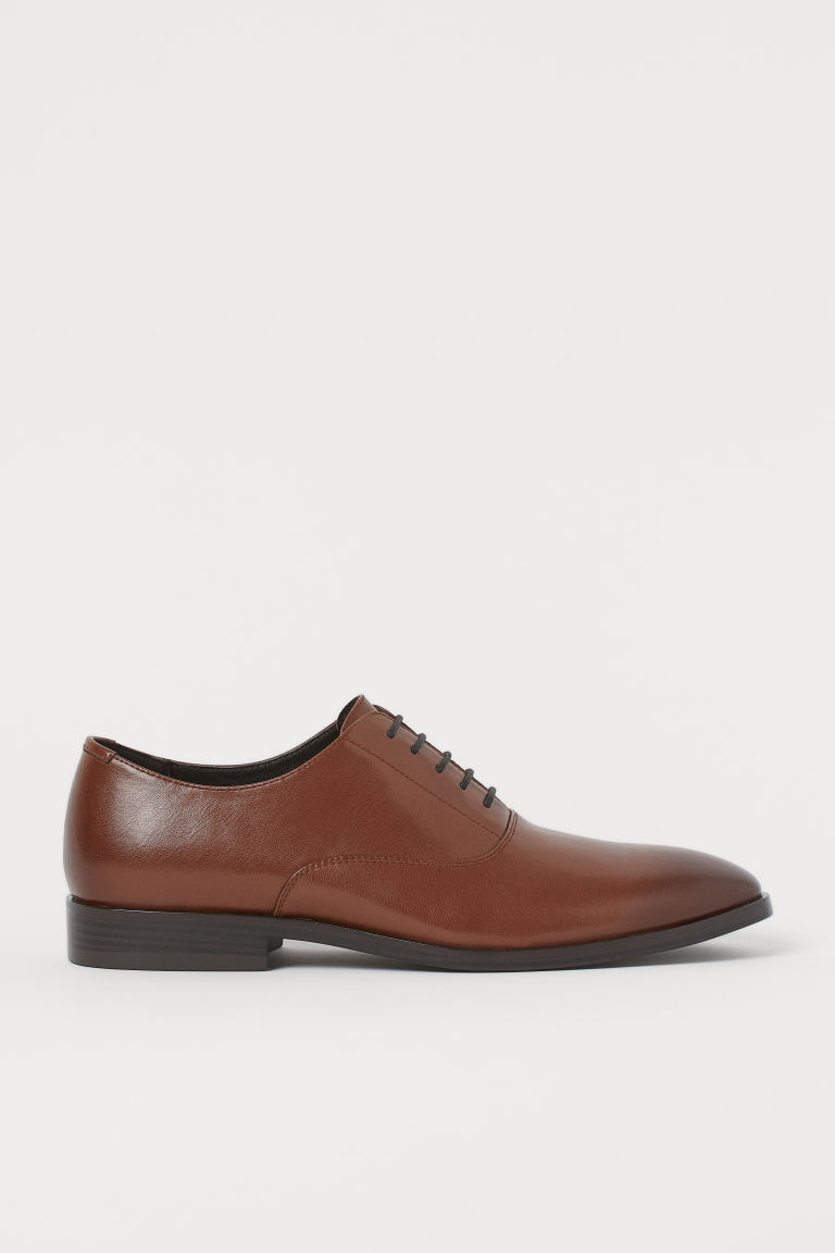 H & M - 牛津鞋 - 褐色