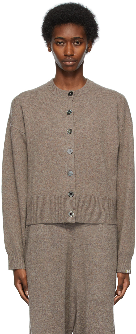 extreme cashmere 灰褐色 N°170 Chou 开衫