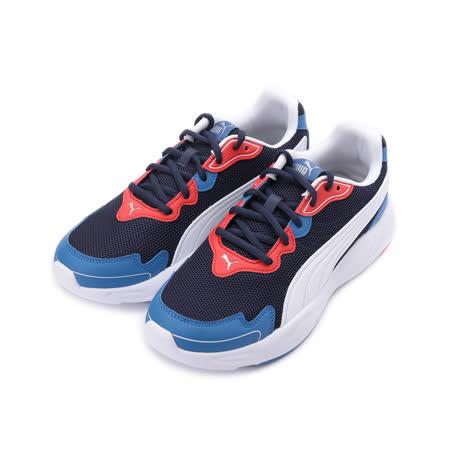 PUMA 90S RUNNER NU WAVE 復古休閒跑鞋 黑紅藍 373017-07 男鞋