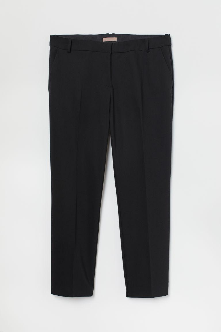 H & M - H & M+ 煙管褲 - 黑色