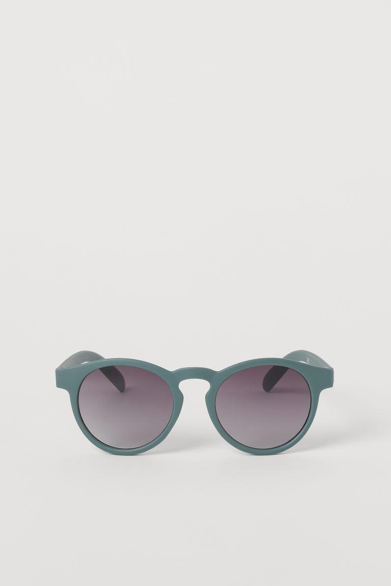 H & M - 圓框太陽眼鏡 - 綠色