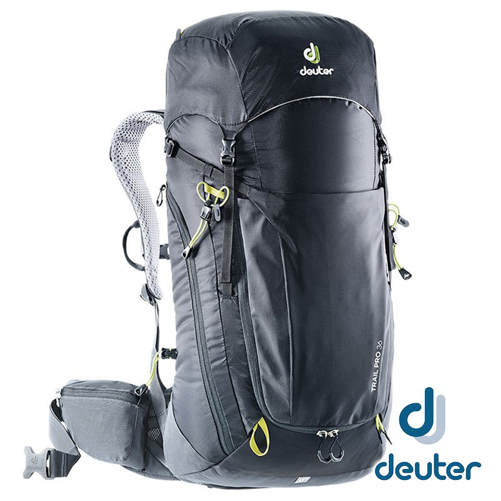 【德國 deuter】Trail PRO輕量拔熱透氣背包36L『黑』3441319