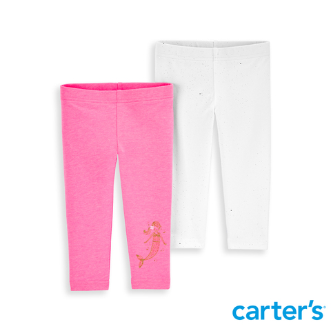 Carter's 台灣總代理 - 2件組內搭褲(素色) (12M-24M)