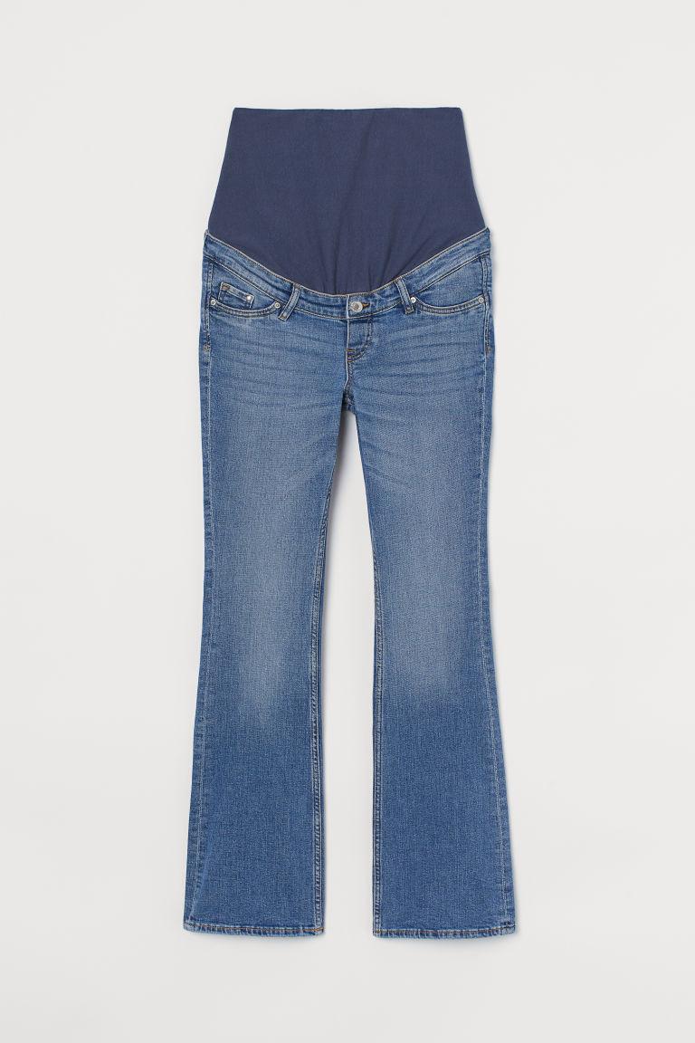 H & M - MAMA 小喇叭牛仔褲 - 藍色