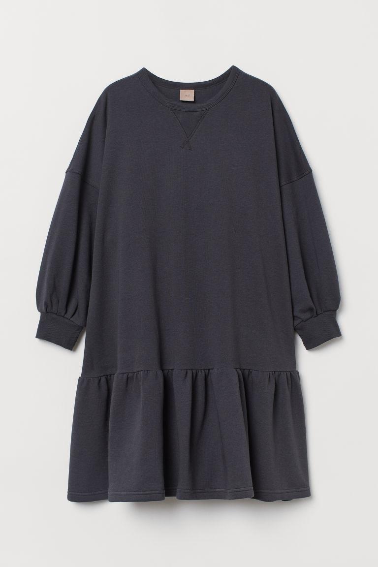 H & M - H & M+ 運動洋裝 - 灰色