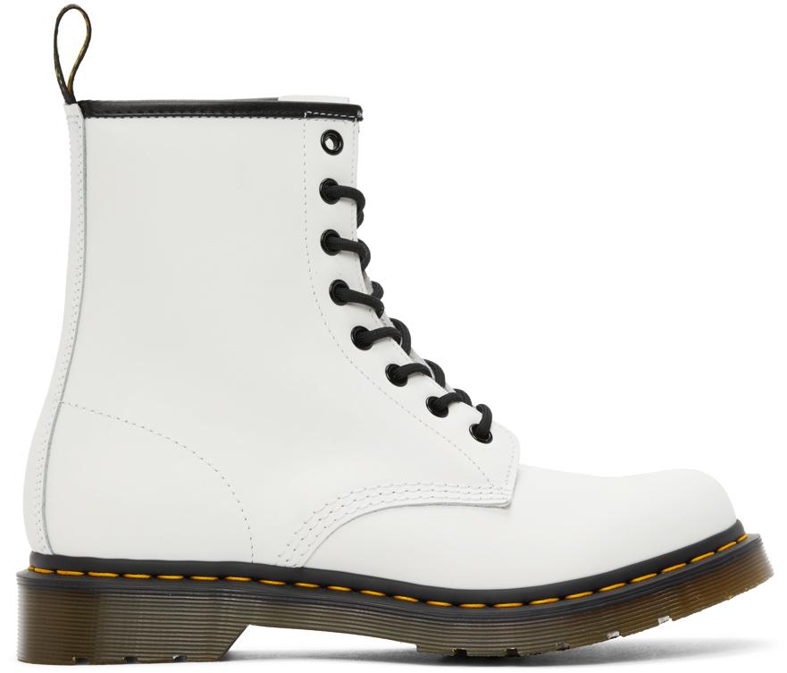 Dr. Martens 白色 1460 踝靴