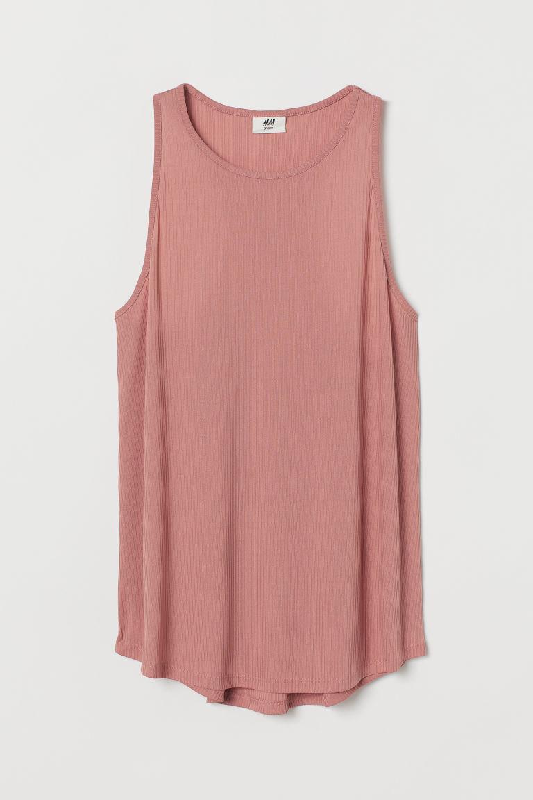H & M - 運動背心上衣 - 粉紅色
