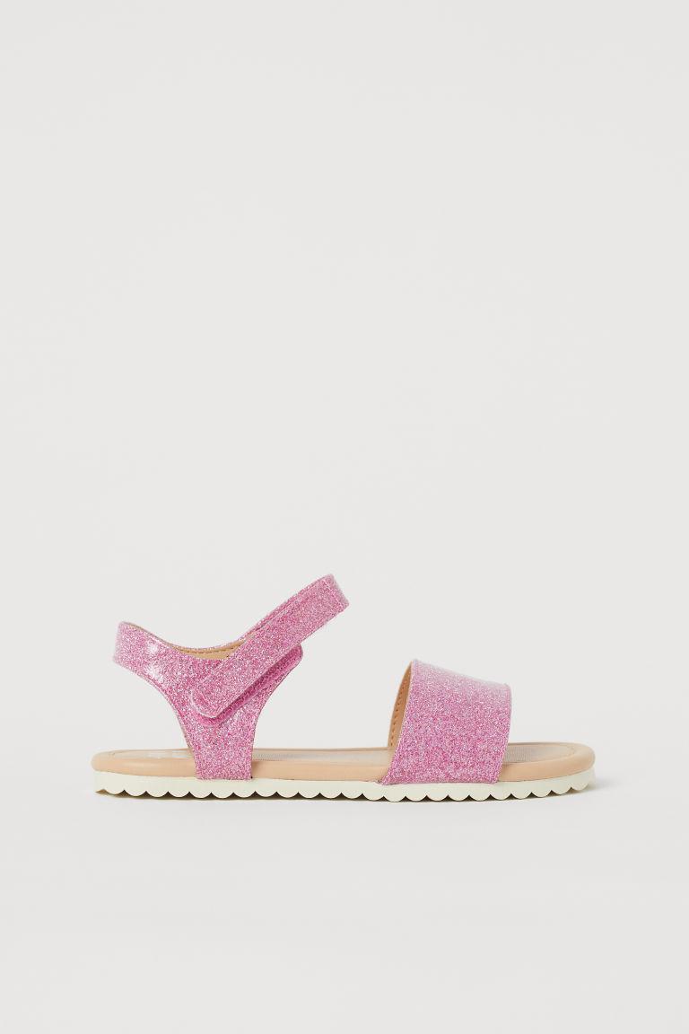 H & M - 涼鞋 - 粉紅色