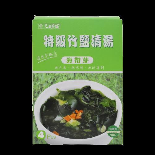 【純素】元歲本舖特級竹鹽清湯(海帶芽)22g