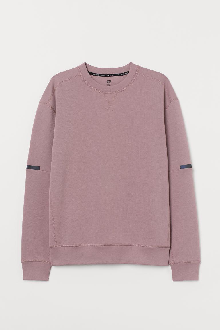 H & M - 休閒剪裁運動上衣 - 粉紅色