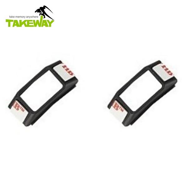 又敗家@台灣製造TAKEWAY尼龍襯墊2入組PD01(增加手機裝上黑隼Z手機座的緊密度)適T-PH05、LA1-PH05