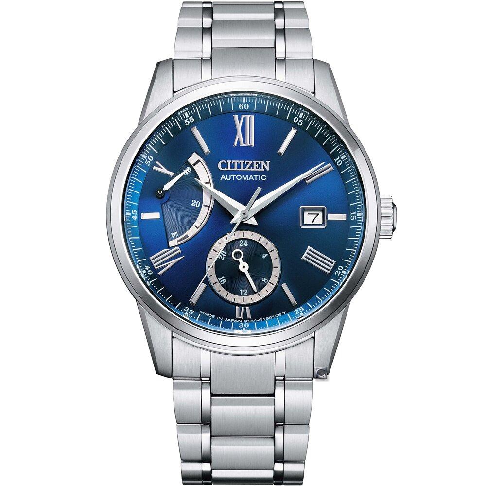 CITIZEN星辰 Mechanical 紳士商務機械腕錶 NB3001-61M