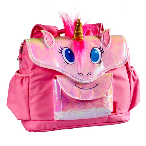 美國Bixbee 3D動物童趣系列—奇幻粉獨角馬小童背包