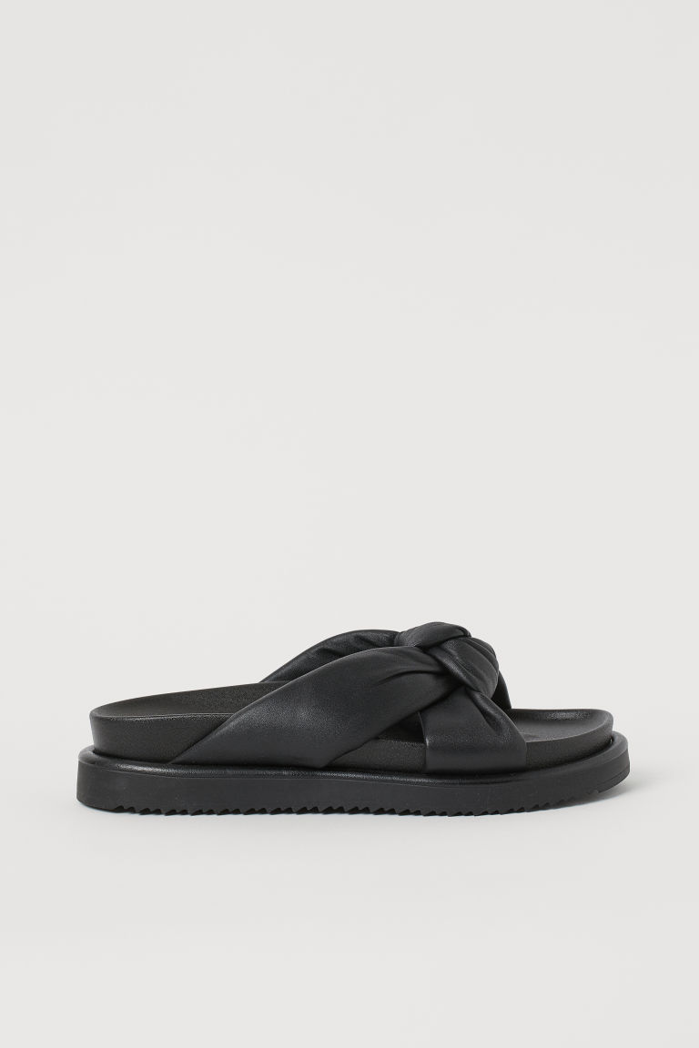 H & M - 涼鞋 - 黑色