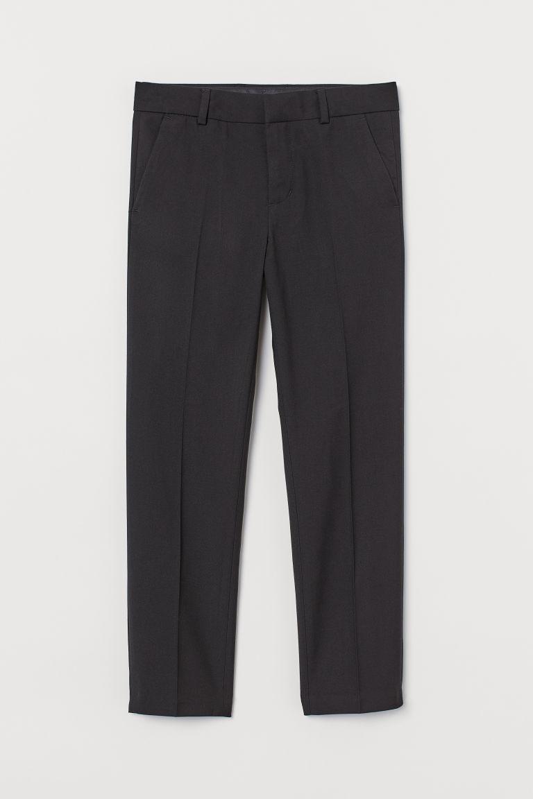 H & M - 西裝褲 - 黑色