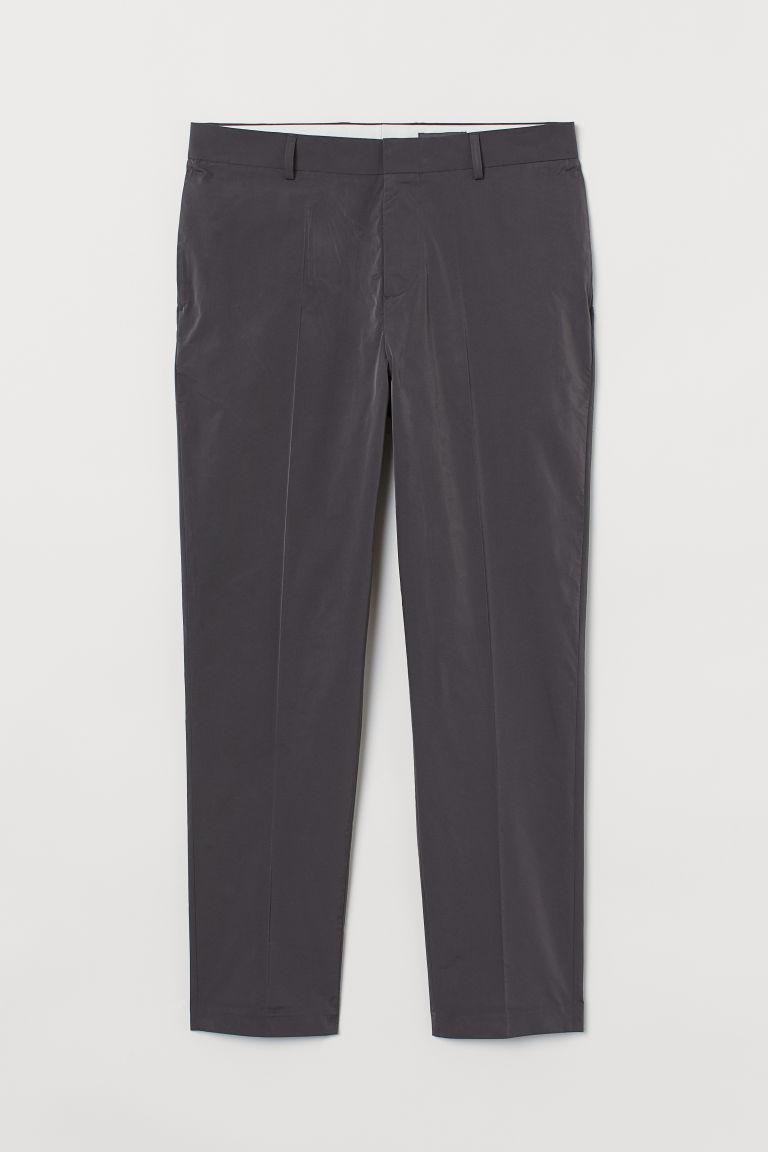 H & M - 貼身九分褲 - 灰色