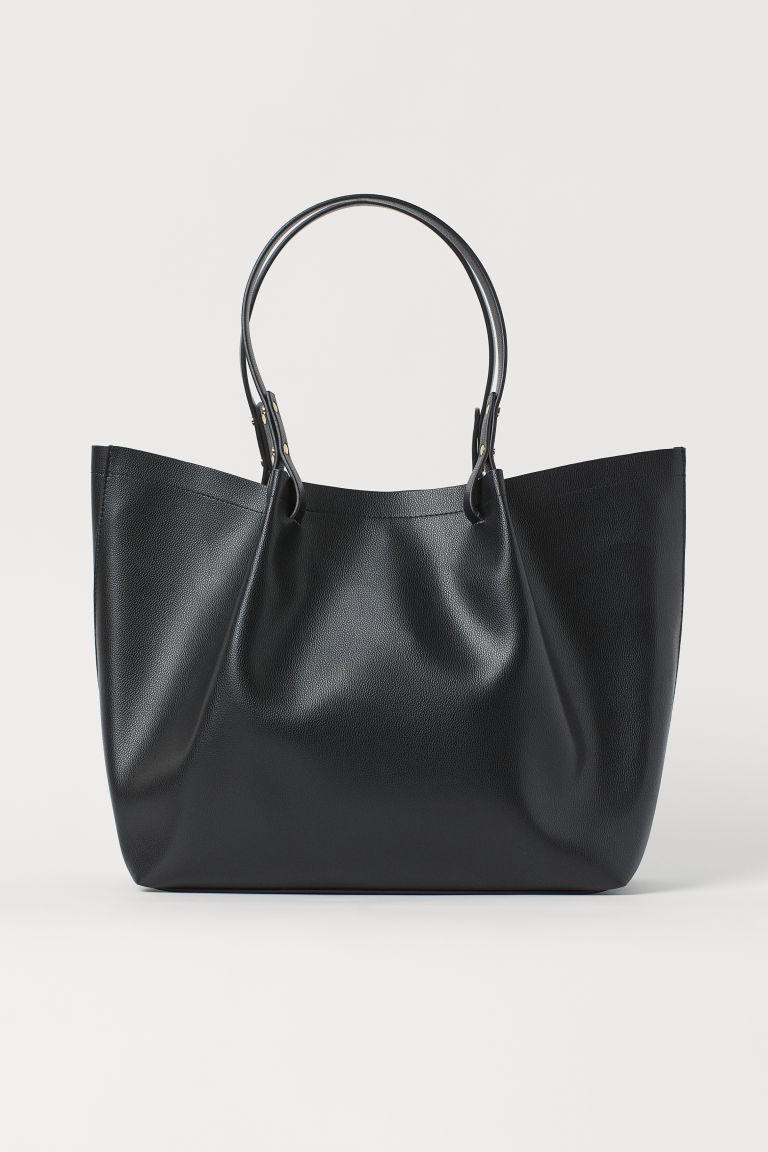 H & M - 購物包 - 黑色