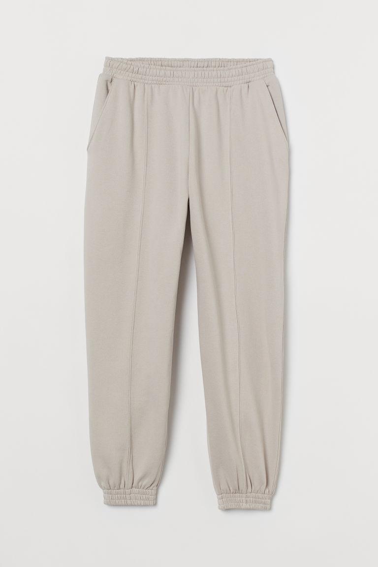 H & M - 加大碼慢跑褲 - 褐色