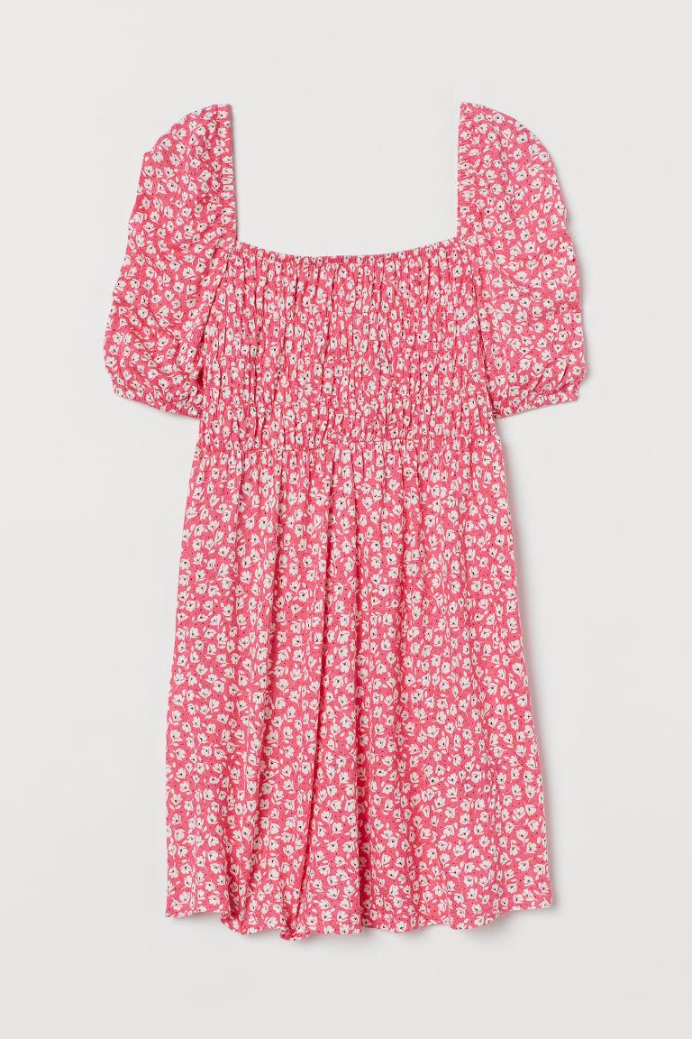 H & M - MAMA 縮褶細節上衣 - 粉紅色