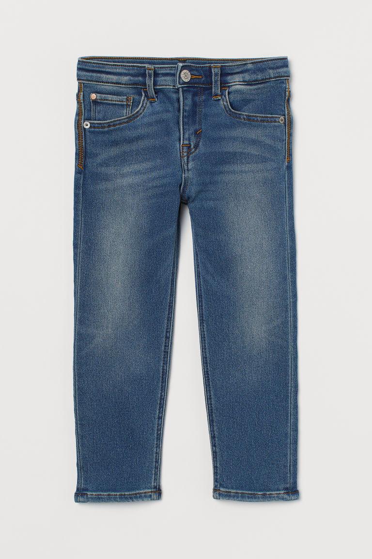 H & M - 貼身牛仔褲 - 藍色