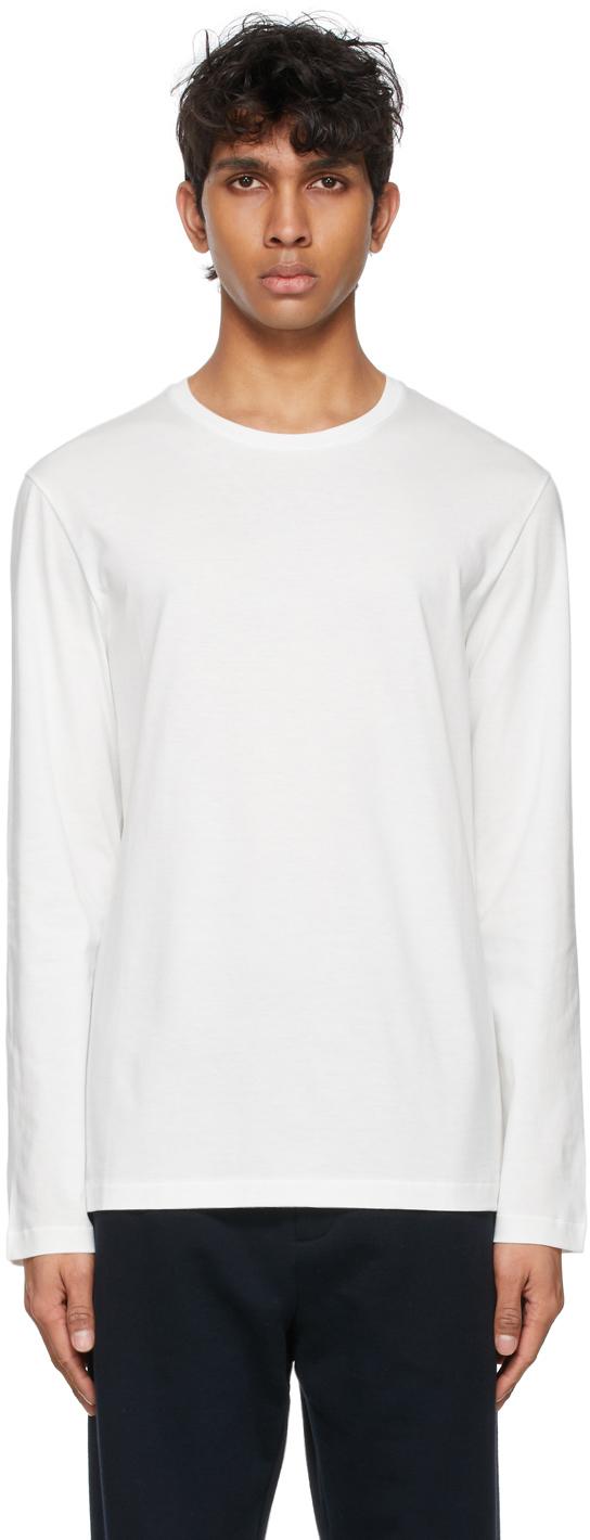 The Row 白色 Leon 长袖 T 恤