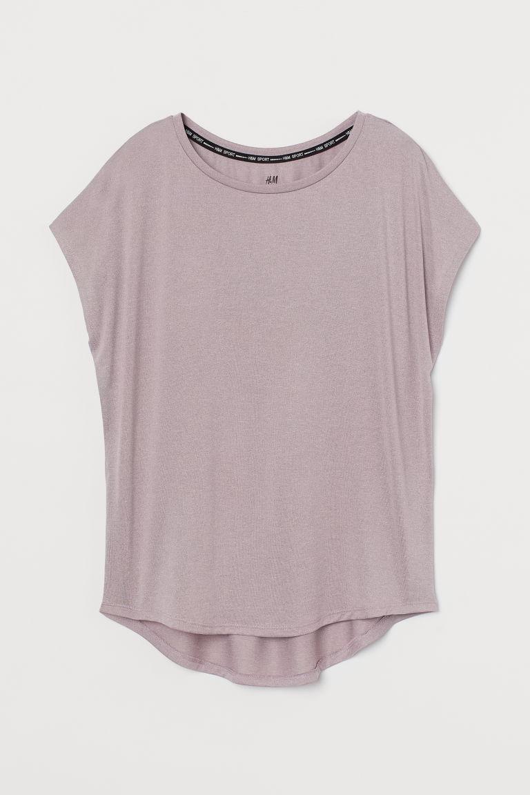 H & M - 運動上衣 - 紫色