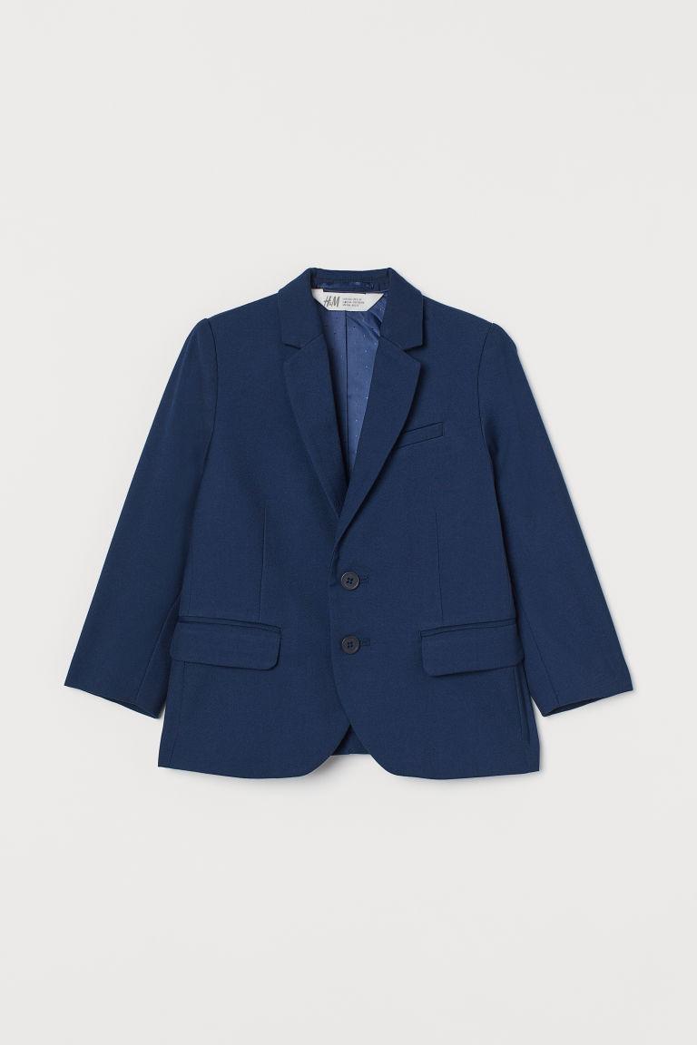 H & M - 經典外套 - 藍色