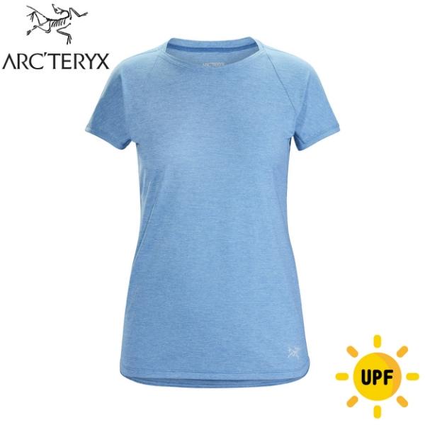 【ARC'TERYX 始祖鳥 女 Taema快乾短袖圓領衫《倒影雜藍》】26926/短袖T恤/運動衫/透氣/吸濕排汗