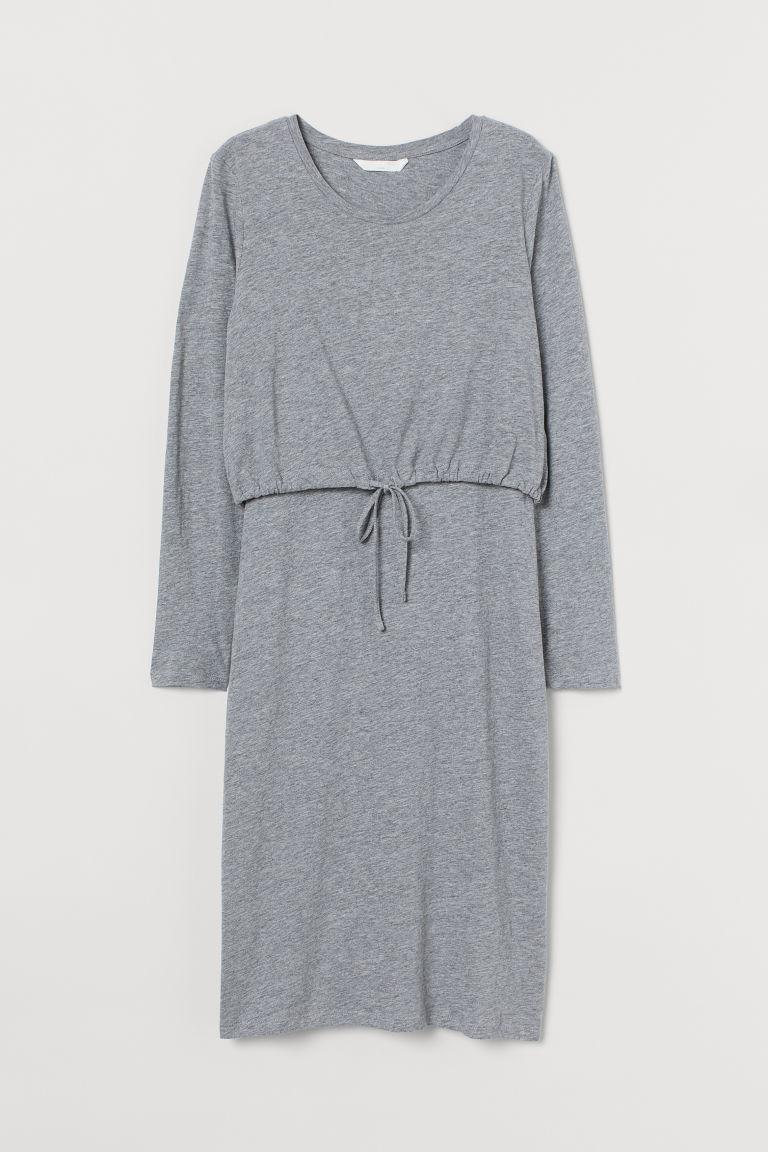 H & M - MAMA 哺乳洋裝 - 灰色