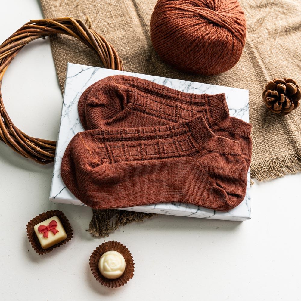 戀人啊!愛我多一點-65%黑巧克力襪-船型 (S6600132)