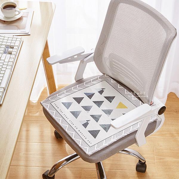 夏天透氣清涼辦公室椅坐墊